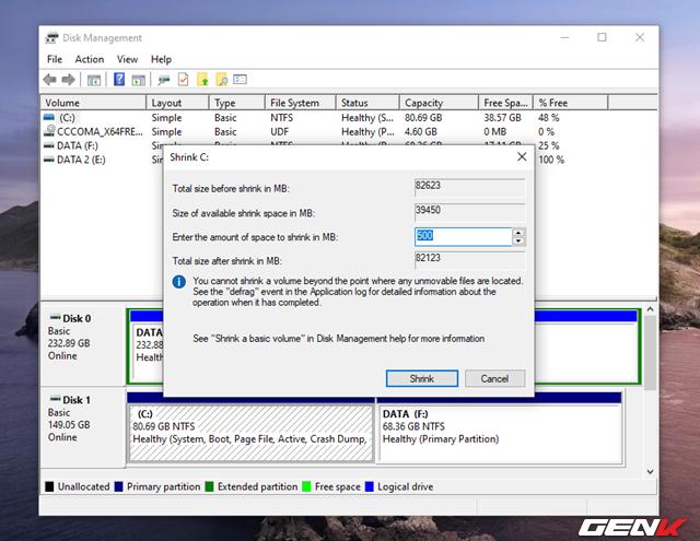 Cách tự tạo phân vùng Recovery để khắc phục các sự cố khi cần trên Windows 10 - Ảnh 17.