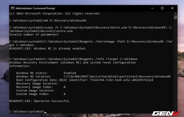 Cách tự tạo phân vùng Recovery để khắc phục các sự cố khi cần trên Windows 10 - Ảnh 20.