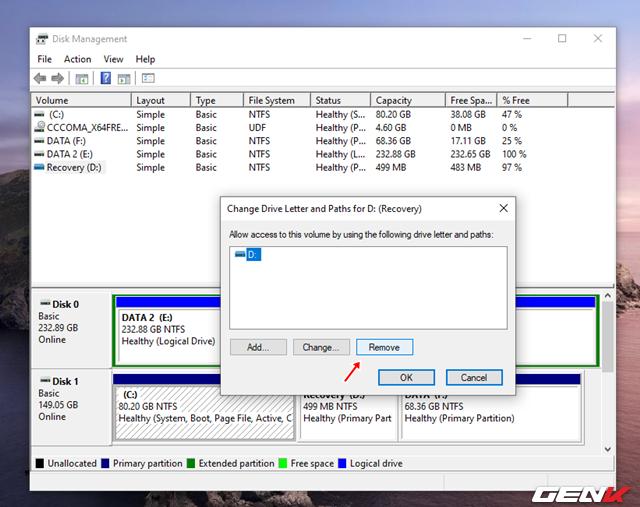 Cách tự tạo phân vùng Recovery để khắc phục các sự cố khi cần trên Windows 10 - Ảnh 22.