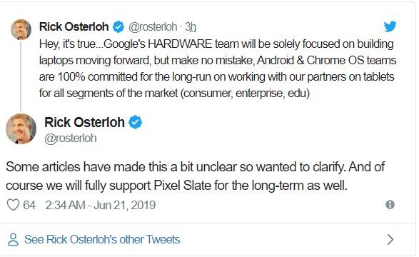 Nhận thua trước iPad của Apple, Google dừng phát triển và sản xuất dòng tablet Pixelbook - Ảnh 2.