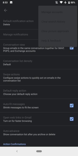 Ứng dụng Gmail trên Android được cập nhật giao diện Dark Mode - Ảnh 2.