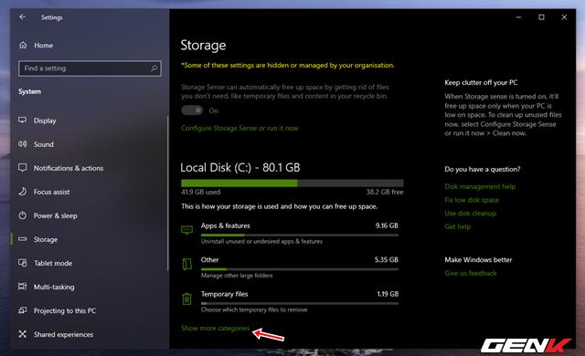 Reserved Storage trên Windows 10 May 2019 là gì? Có nên vô hiệu hóa nó hay không? - Ảnh 4.