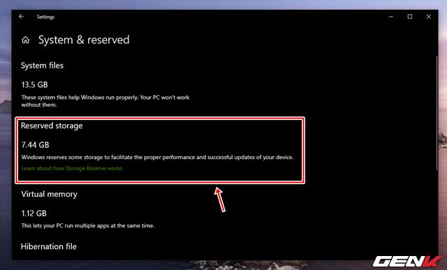 Reserved Storage trên Windows 10 May 2019 là gì? Có nên vô hiệu hóa nó hay không? - Ảnh 6.