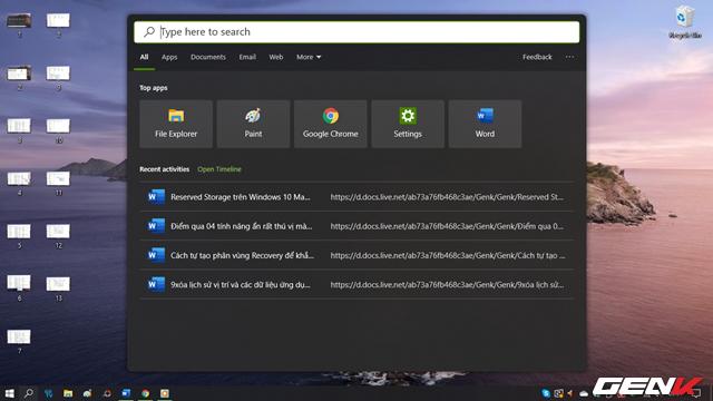 Cách kích hoạt giao diện cửa sổ tìm kiếm mới trong Windows 10 May 2019 - Ảnh 14.