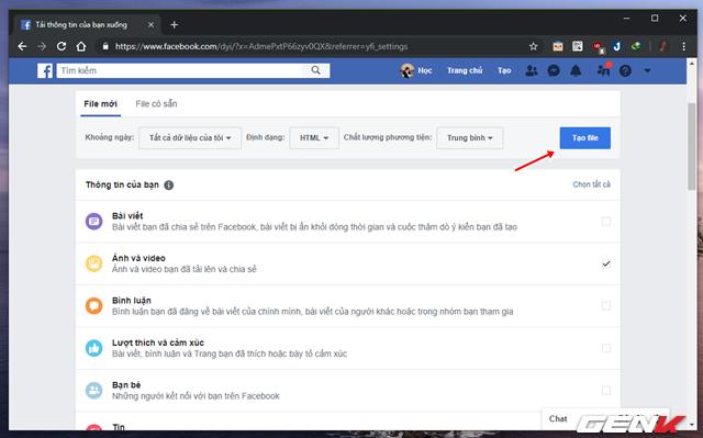 Cách sao lưu ảnh từ Facebook sang Google Photos phòng trường hợp tài khoản bị khóa - Ảnh 7.