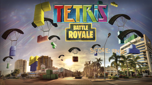 Tetris Royale: chế độ battle royale 100 người cực độc của tựa game xếp hình cổ điển - Ảnh 1.