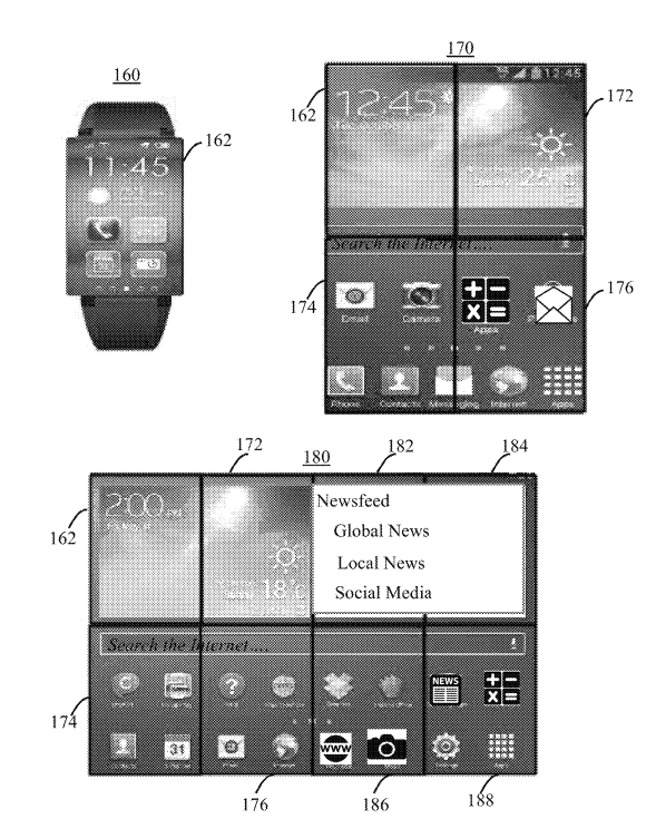 Đây là chiếc smartwatch mà IBM đang ấp ủ, màn hình có thể mở rộng thành smartphone hoặc tablet - Ảnh 1.