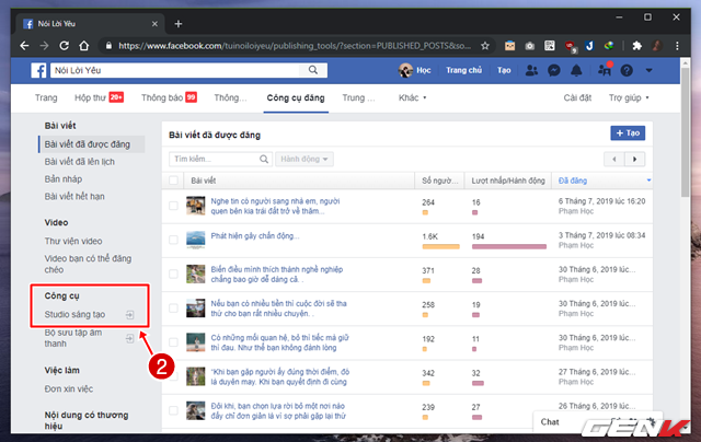 """Quản lý nhiều Facebook Page hiệu quả hơn với công cụ """"chính chủ"""" Facebook Studio - Ảnh 3."""