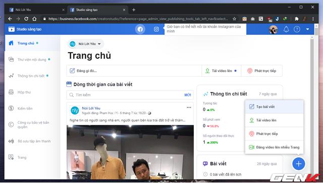 """Quản lý nhiều Facebook Page hiệu quả hơn với công cụ """"chính chủ"""" Facebook Studio - Ảnh 8."""