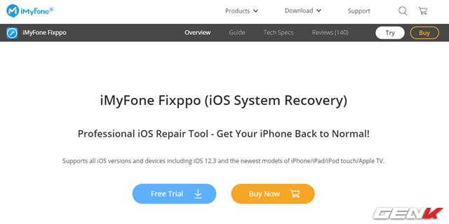 iMyFone Fixppo, giải pháp khắc phục triệt để các lỗi cơ bản về Recovery cho iPhone - Ảnh 2.