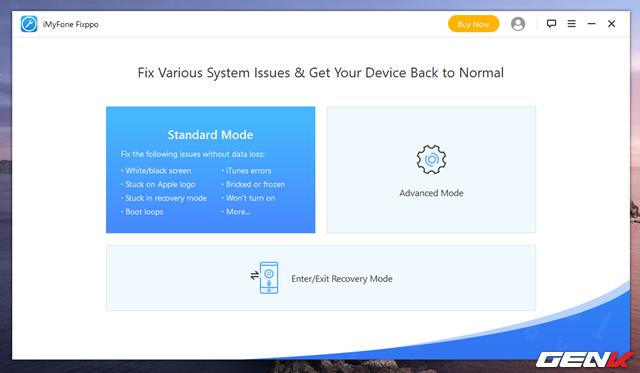 iMyFone Fixppo, giải pháp khắc phục triệt để các lỗi cơ bản về Recovery cho iPhone - Ảnh 6.