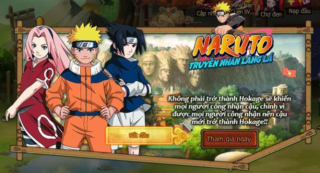 Trải nghiệm Naruto Truyền Nhân Làng Lá - Game đấu thẻ tướng bản sắc Việt - Ảnh 1.