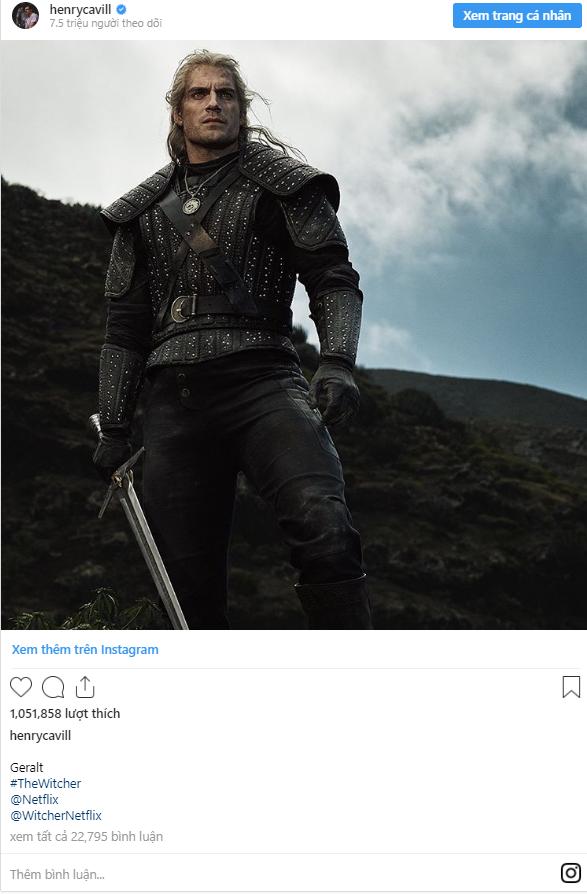 Sịp đỏ Henry Cavill chất lừ trong phim chuyển thể từ The Witcher - Ảnh 9.