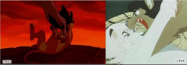 """Lion King – Vị vua """"giả mạo"""" của Disney: Tên nhân vật, cốt truyện, tạo hình… đều """"xài chùa"""" từ bộ Anime Nhật 30 năm trước? - Ảnh 5."""