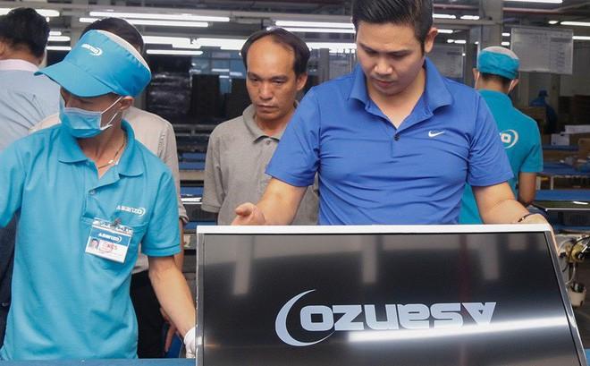 Khởi tố vụ công ty ma nhập hàng từ Trung Quốc gắn mác Asanzo - Ảnh 1.