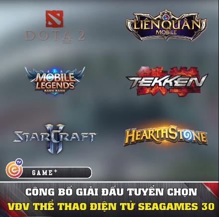 Esports: Cập nhật danh sách chính thức VĐV tham dự SEA Games 30 các nội dung thể thao điện tử - Ảnh 1.