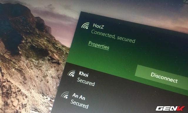 Cách xem và thay đổi mật khẩu Wi-Fi đã kết nối trên máy tính Windows 10 - Ảnh 1.