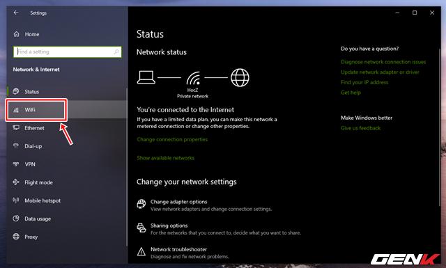 Cách xem và thay đổi mật khẩu Wi-Fi đã kết nối trên máy tính Windows 10 - Ảnh 3.