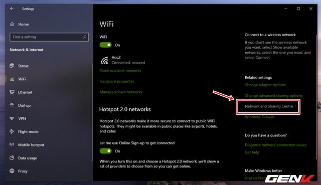 Cách xem và thay đổi mật khẩu Wi-Fi đã kết nối trên máy tính Windows 10 - Ảnh 4.