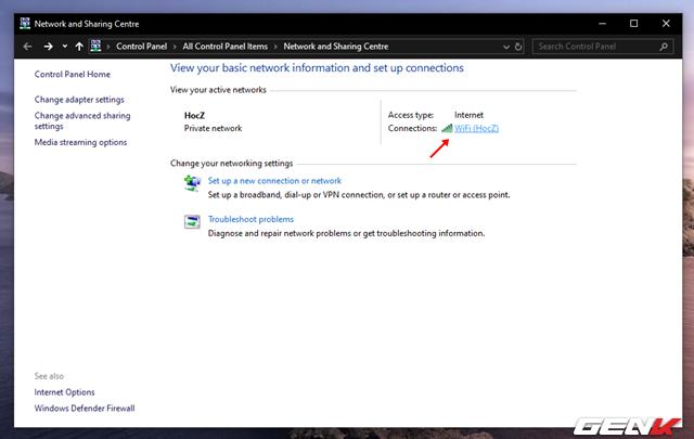 Cách xem và thay đổi mật khẩu Wi-Fi đã kết nối trên máy tính Windows 10 - Ảnh 5.