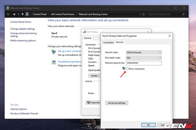 Cách xem và thay đổi mật khẩu Wi-Fi đã kết nối trên máy tính Windows 10 - Ảnh 7.