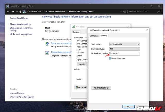 Cách xem và thay đổi mật khẩu Wi-Fi đã kết nối trên máy tính Windows 10 - Ảnh 8.