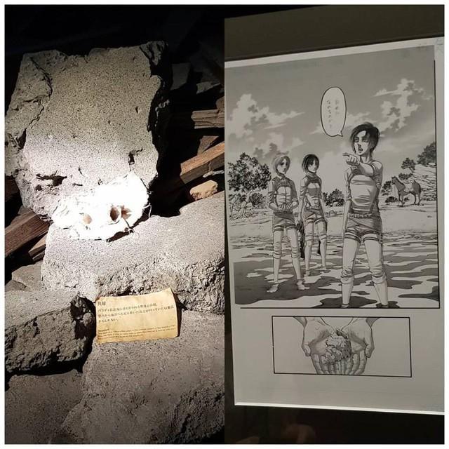 Tổng hợp những mẫu vật được trưng bày ở triển lãm cuối cùng của Manga Attack on Titan tại Nhật (Phần 2) - Ảnh 1.