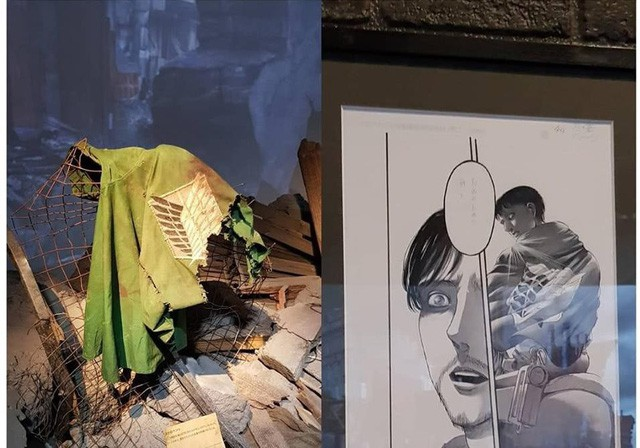 Tổng hợp những mẫu vật được trưng bày ở triển lãm cuối cùng của Manga Attack on Titan tại Nhật (Phần 2) - Ảnh 3.