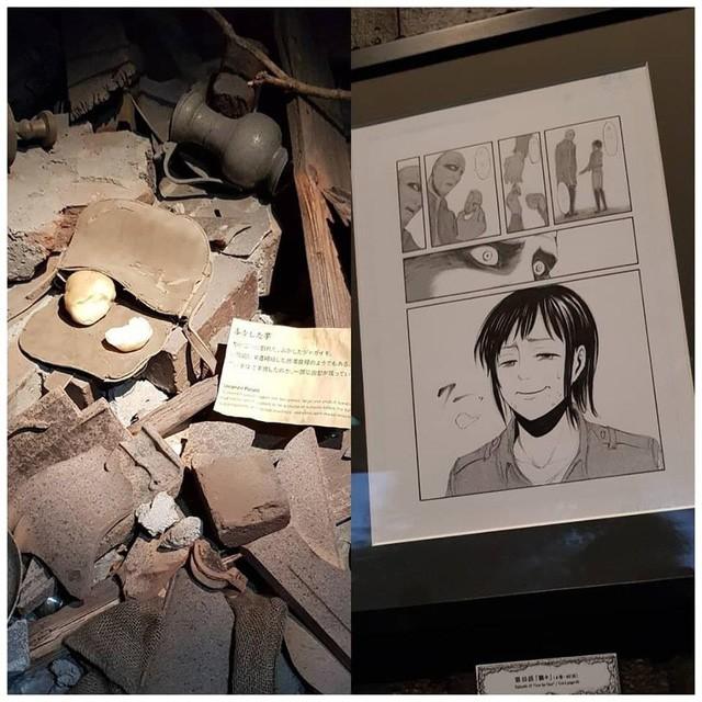 Tổng hợp những mẫu vật được trưng bày ở triển lãm cuối cùng của Manga Attack on Titan tại Nhật (Phần 2) - Ảnh 4.