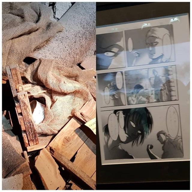 Tổng hợp những mẫu vật được trưng bày ở triển lãm cuối cùng của Manga Attack on Titan tại Nhật (Phần 2) - Ảnh 7.