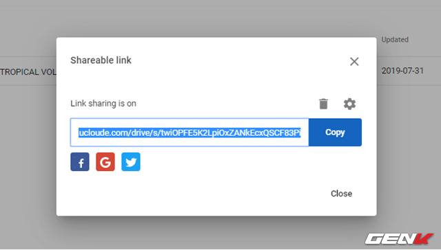 Dùng thử uCloude, dịch vụ lưu trữ miễn phí 15TB với tính năng chia sẻ dữ liệu bảo mật tự hủy - Ảnh 10.