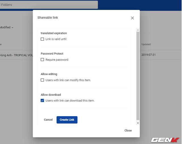 Dùng thử uCloude, dịch vụ lưu trữ miễn phí 15TB với tính năng chia sẻ dữ liệu bảo mật tự hủy - Ảnh 9.