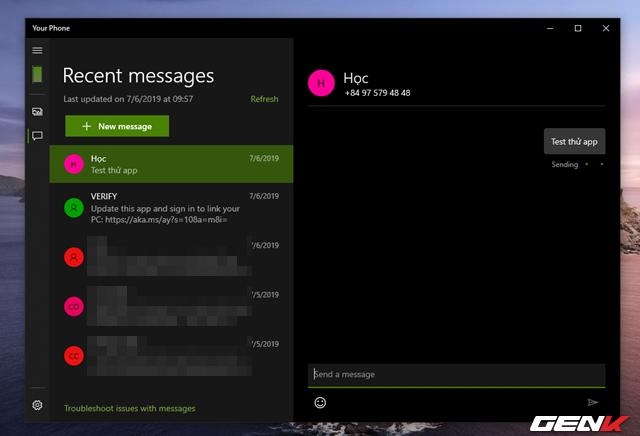 Cách quản lý tin nhắn và hình ảnh từ smartphone bằng ứng dụng chính chủ từ Microsoft - Ảnh 18.