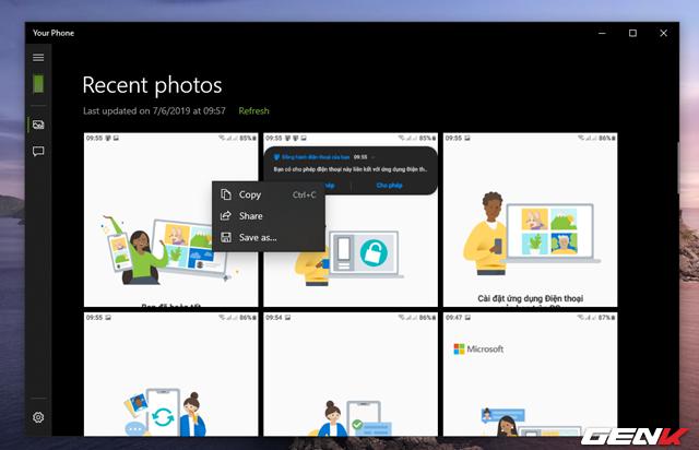 Cách quản lý tin nhắn và hình ảnh từ smartphone bằng ứng dụng chính chủ từ Microsoft - Ảnh 20.