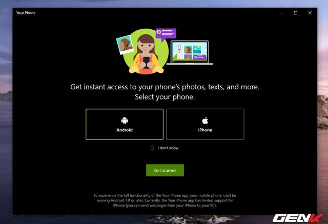 Cách quản lý tin nhắn và hình ảnh từ smartphone bằng ứng dụng chính chủ từ Microsoft - Ảnh 4.