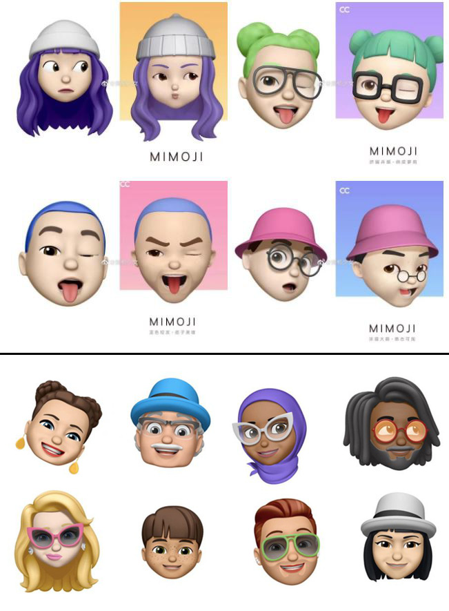 Cứ bảo không copy nhưng tính năng Mimoji của Xiaomi giống Memoji của Apple đến mức chính nhân viên Xiaomi cũng nhầm - Ảnh 1.