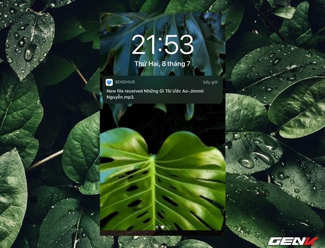 Cách sử dụng SendHub để chuyển dữ liệu từ máy tính sang iPhone - Ảnh 10.