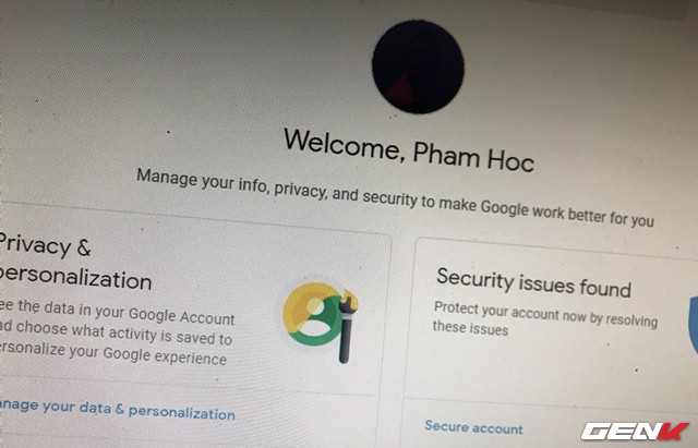 Đây là những cách đơn giản giúp bảo vệ tài khoản Google mà bạn nên biết và sử dụng - Ảnh 1.