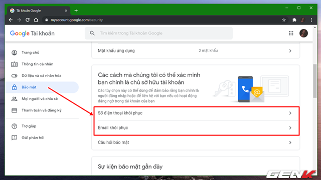 Đây là những cách đơn giản giúp bảo vệ tài khoản Google mà bạn nên biết và sử dụng - Ảnh 3.