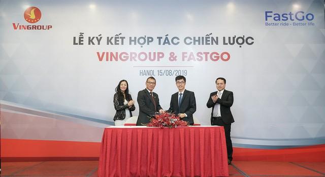 Vingroup hợp tác với FastGo tham gia thị trường xe công nghệ, cạnh tranh với Grab, Be, Mygo... - Ảnh 2.