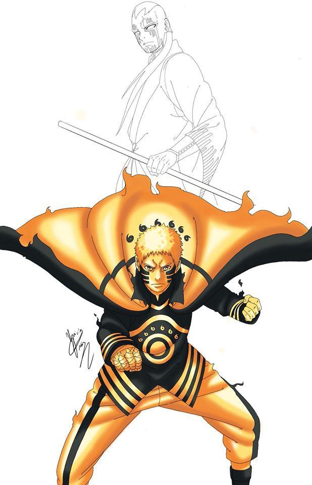 Naruto: Lác mắt với đủ loại biến thể Chakra Mode siêu ngầu của Hokage Đệ Thất - Ảnh 7.