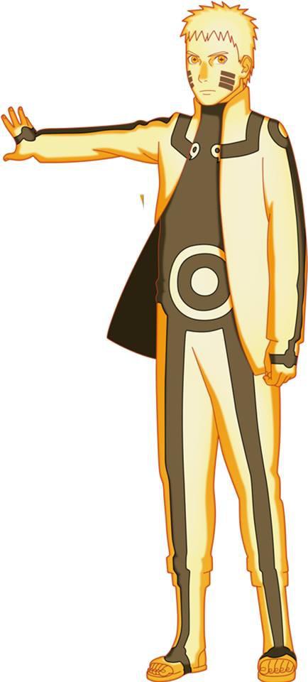 Naruto: Lác mắt với đủ loại biến thể Chakra Mode siêu ngầu của Hokage Đệ Thất - Ảnh 3.