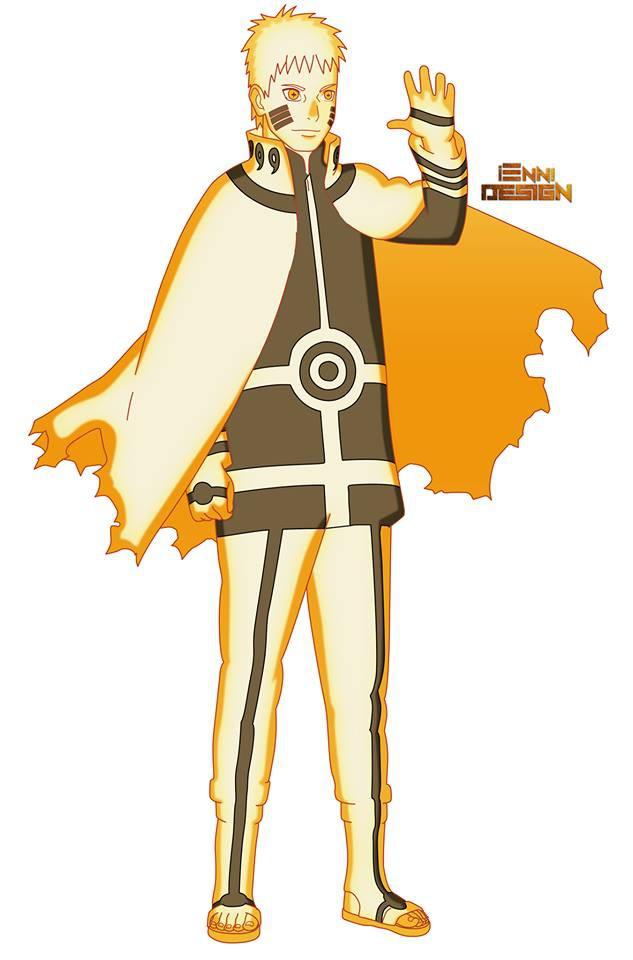 Naruto: Lác mắt với đủ loại biến thể Chakra Mode siêu ngầu của Hokage Đệ Thất - Ảnh 1.
