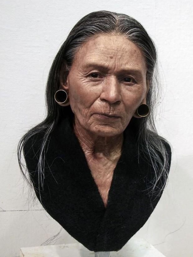 Nhà khảo cổ học điêu khắc gương mặt của người thật sống hàng nghìn năm về trước, đẹp từng milimet khiến nhiều người bị lừa - Ảnh 1.
