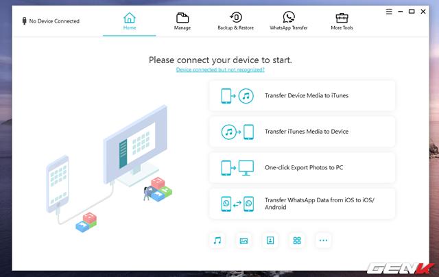 Quản lý dữ liệu iPhone trên Windows hiệu quả và toàn diện hơn với iCareFone - Ảnh 5.