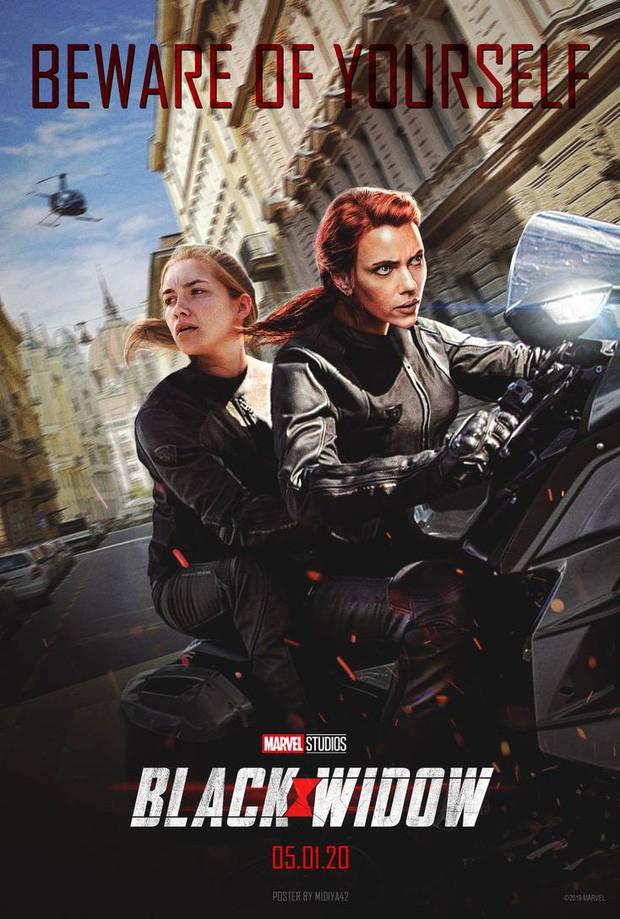 Sự kiện D23 EXPO: Marvel lại chơi chiêu tung fancam quay lén trailer Black Widow, thêm 3 người được bứng lên Disney+? - Ảnh 1.
