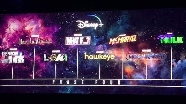 Sự kiện D23 EXPO: Marvel lại chơi chiêu tung fancam quay lén trailer Black Widow, thêm 3 người được bứng lên Disney+? - Ảnh 5.