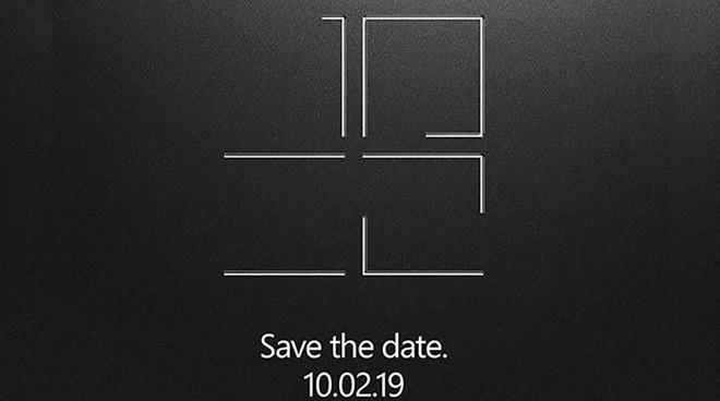 Microsoft công bố sự kiện ngày 2 tháng 10, có thể ra mắt máy tính bảng hai màn hình gập bí ẩn - Ảnh 1.