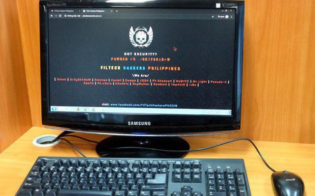 Hacker Phillippines tấn công web Việt Nam, trả đũa việc bị mất Facebook - Ảnh 1.