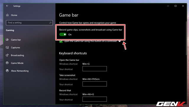 Làm gì khi Game Bar không hoạt động trên Windows 10? - Ảnh 4.